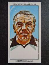 LE SOLEIL soccercards 1978-79 - JOHNNY HAYNES - ANGLETERRE #268