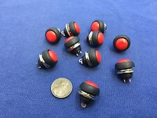10 Pieces N/O  12mm Round Momentary Push Button Switch 3A 250VAC A3