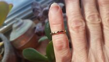 Handmade Vintage 14k. gold filled 1960s new stock ring size 1.5