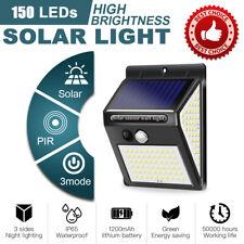150LED Solar Power Spotlight Garden Lawn Lamp Landscape Light Waterproof 3 Modes