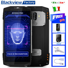 NUOVO 5.7''Blackview BV9000 Pro 4G Smartphone 6GB/128GB Cellulare FACE ID NFC IT
