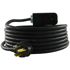 Conntek RU1030PR-025 NEMA 10-30 3 Prong Dryer Outlet Power Extension Cord, 25ft.