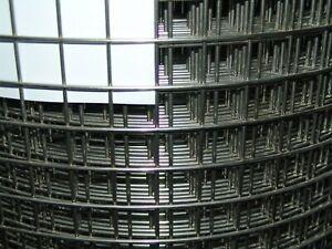 Volierendraht Edelstahl 1x1m /25,4 x 25,4mm / 2,0mm  Drahtgitter punktgeschweißt
