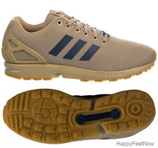 ADIDAS ORIGINALS ZX FLUX HEMP GUM RUNNING SHOES MEN'S SIZE US 9.5 UK 9 BY2038