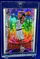 ALLEN IVERSON UD SP AUTHENTIC MAXIMUM FORCE RAINBOW REFRACTOR BEAUTY