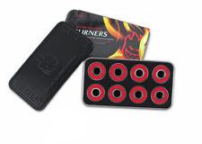 Spitfire Skateboard Bearings Burners Red (Spitfire Stash Tin Included)