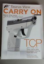 Taurus Arms Firearms Catalog 2014 Brochure NEW 110 Pages Rifles Pistol