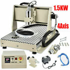 1.5KW 4Axis USB CNC 6040 Router Milling Machine Engraver DIY Engraving Drilling!