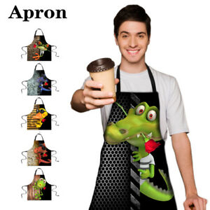 Animal Apron Dress Restaurant Chef Baking Cleaning Dinner Party Adult Funny Frog