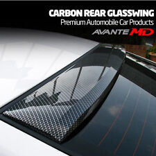 MIK Carbon Fiber Style Rear Roof Glass Wing Spoiler for Hyundai Elantra MD 11-15
