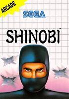 Shinobi - SEGA Master System (Cartridge)
