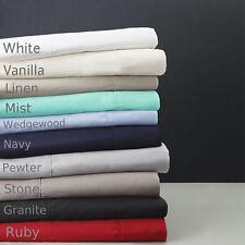 Logan & Mason 60cm Deep Wall Super King Fitted Sheet 204 X 204cm Bed Linen