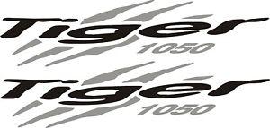Triumph Tiger 1050 vinyl stickers