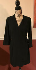 Topshop Mini Dress Black Women's Size 8 MSRP $68