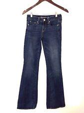 American Eagle Vintage Flare Denim Jeans Medium Wash Women's Size 00 Regular