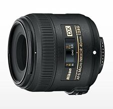 Nikon Single-Focus Micro Lens Af-S Dx Micro Nikkor 40Mm F / 2.8G Nikon D New F/S