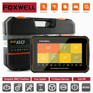 Foxwell GT60 Full System Car OBDII DPF TPS SRS ABS Diagnostic Tablet Scan Tool