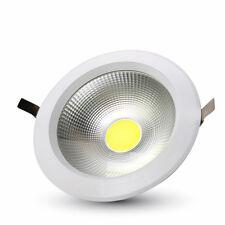 Led Commercial Lighting Downlight Reflector Cob 30w 6400k