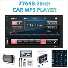 7in 2DIN Car FM Stereo Radio Multimedia MP5 Player Bluetooth w/Rear View Camera