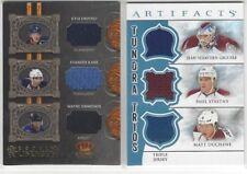 2012-13 Artifacts Tundra Trios Jerseys Blue #TT3GSD Giguere/Stastny/Duchene