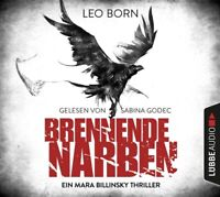 BRENNENDE NARBEN-EIN MARA BILLINSKY THRILLER 3 - BORN,LEO  6 CD NEW