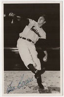 Lou Brissie signed autographed postcard! RARE! Guaranteed Authentic!
