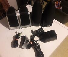 Lot of Computer Speakers with Volume Control 4 Speakers PC Philips