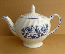 Wood & Sons Ellgreave teapot, bird of paradise blue