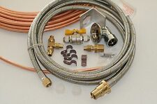 the Ultimate Weber Q to Caravan gas line bayonet retrofit kit with 3m S/S Hose