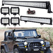 52Inch 700W LED Light Bar Combo+20inch+4
