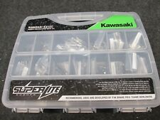 Kawasaki KX500 2001 SUPERLITE Titanium full chassis frame bolt kit