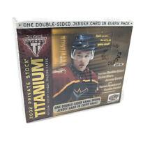 2001-02 PACIFIC PRIVATE STOCK TITANIUM Hockey pasatiempo caja