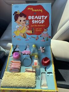 """My Merry Beauty Shop """" Just Like Mommys""""  1957 Merry MFG CO"""