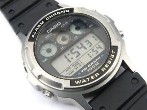 Gents Vintage CASIO Tri-Graph TGW-100 Digital Watch - 100m