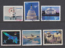 US Sc 3261,3472,3647A,4018,4144,4268 used. 1998-2008 Priority Mail, 6 diff, F-VF