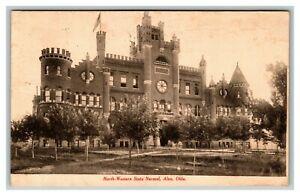 Vintage 1910 Photo Postcard Northwestern Oklahoma State University Alva Oklahoma
