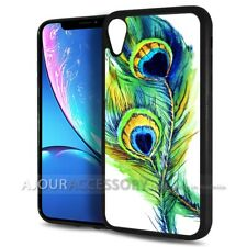 ( For iPhone XR ) Back Case Cover AJH11669 Peacock