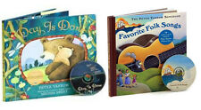 Favorite Folk Songs & Day is Done by Peter Yarrow (Hardcovers/CD) FREE ship $35