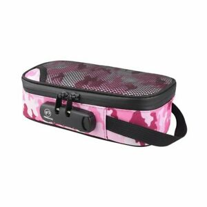 Smell Proof Bag with Lock Odor Proof Stash Case Container Storage No Smell Pouch