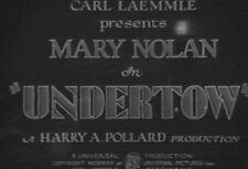 UNDERTOW (1930) DVD MARY NOLAN, JOHNNY MACK BROWN