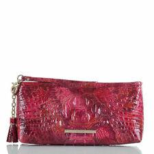 Brahmin Petunia Kayla Melbourne Leather Bag Wristlet Purse New