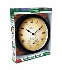 Metal Round Traditional Wall Clocks