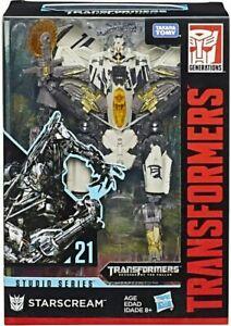 Starscream Studio Series 21 SS Deluxe Transformers Hasbro Action Figure Kid Toy