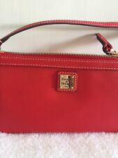 Dooney & Bourke Red Wristlet Wallet Bag XF111T NWT Retail $88
