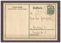 Deutsches Reich, Ganzsache P 212 II Brieg Brzeg, Polen nach Berlin 13.11.1931