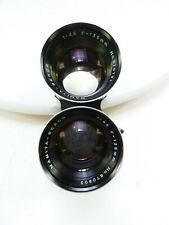 Mamiya TLR 135MM F4.5 Blue Dot Lens for all Mamiya Twin Lens Reflex Camera in EC