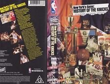 BASKETBALL NEW YORKS GAME HISTORY OF THE  KNICKS A RARE FIND~VHS VIDEO PAL~