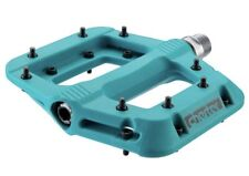 """Race Face Chester Flat Pedals BMX Bike Pedals - Turquoise 9/16"""""""