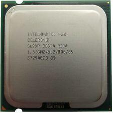 Intel Celeron D 420 E420 SL9XP Desktop CPU Processor LGA775 512K 1.60Ghz