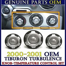 KNOBS - FAN AC HEATER TEMPERATURE CONTROL SWITCH 00-01 Tiburon Turbuelnce /Coupe